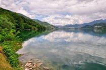 Widok na jezioro Caldonazzo