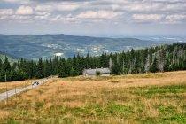 Widok z Hali Szrenickiej, w dole Biała Dolina