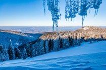 Widok z okna na Śnieżniku