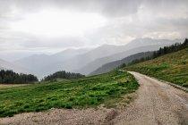 Widok z Passo Cinque Croci