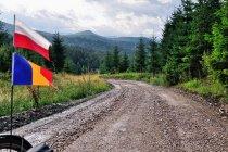 Widoki na obrzeża Karpat