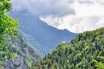Widoki przez Passo Gobbera