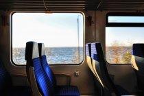 Widoki z pociągu na Zatokę Gdańską