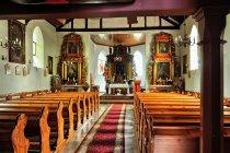 Wielki Łubień - wnętrze kościoła