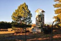 Wieża obserwacyjna przy starej strzelnicy