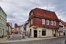 Wiszący dom w Perlebergu
