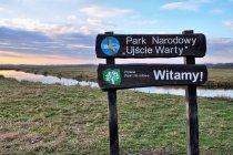 Witamy w parku Ujście Warty