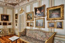 Wnętrza pałacu Rheinsberg