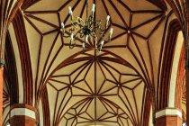 Wnętrze bazyliki w Braniewie