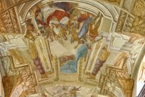 Wnętrze bazyliki Wniebowzięcia NMP w Welehradzie