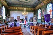 Wnętrze cerkwi w Piorunce