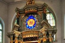 Wnętrze Kaplicy Najświętszej Marii Panny w Studzienicznej