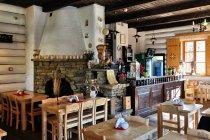 Wnętrze karczmy w Miasteczku Galicyjskim