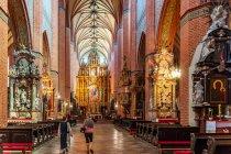 Wnętrze katedry w Pelplinie