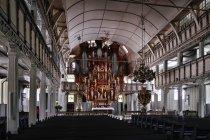 Wnętrze kościoła Św. Ducha w Clausthal-Zellerfeld