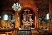 Wnętrze kościoła św. Wawrzyńca w Rybniku
