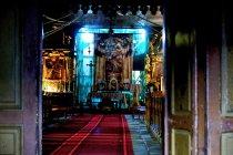 Wnętrze kościoła w Cięcinie