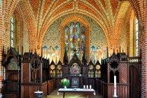Wnętrze kościoła w Heiligengrabe