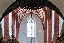 Wnętrze kościoła w Ornecie