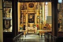 Wnętrze kościoła w Skarszewach