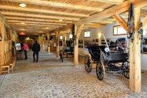 Wnętrze muzeum we Wdzydzach
