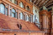 Wnętrze niesamowitego Teatro Farnese
