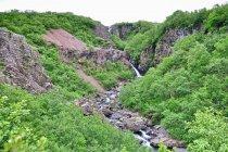 Wodospad Magnúsarfoss koło Skaftafell