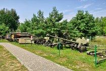 Wojenne eksponaty Skansenu Rzeki Pilicy