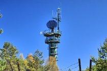 Wojskowa wieża radarowa