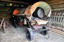 Wóz maziarzy z Łosia