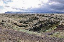 Wulkaniczny krajobraz przed Klaustur