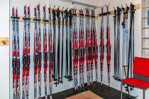 Wypożyczalnia nart w hotelu Sokos w Kuusamo