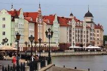 Wyremontowane kamienice w Kaliningradzie. Fot. Aleksander Kaasik