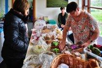 Wystawa i sprzedaż lokalnych islandzkich produktów