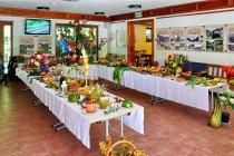 Wystawa żywności w Muzeum Kisuckiej Wsi