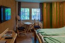 Wystrój pokoju w Hotelu Leśnym
