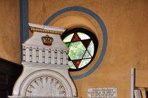 Wystrój synagogi w Sygecie Marmaroskim