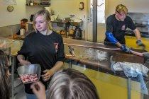 Wytwórnia cukierków w Svaneke