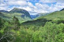 Z lewej strony charakterystyczny szczyt Drosinga