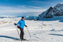 Z pętlą narciarską Ramsau w tle