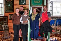 Z przewodniczką meczetu w Bohonikach