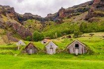 Zabudowania farmy w Núpsstaður