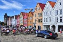 Zabytkowa portowa dzielnica Bryggen