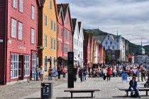 Zabytkowe Bryggen