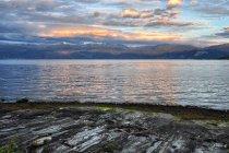 Zachód Słońca nad Hardangerfjordem