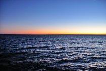 Zachód Słońca nad Zatoką Pucką