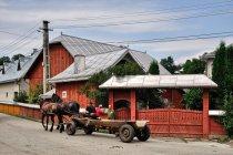 Zadbane, rumuńskie gospodarstwa