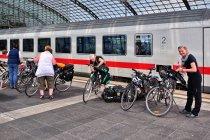 Załadunek na peronie w Berlinie