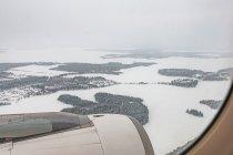 Zamarznięte fińskie jeziora
