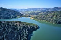 Zapora nad zalewem Nowa Bystrzyca na Słowacji